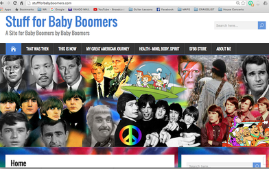 Stuff For Baby  Boomers Home Page