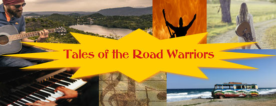 tales of the road warriors banner